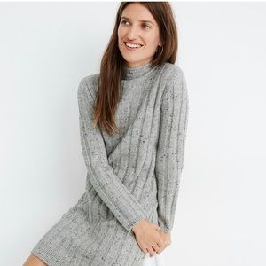 Madewell NWT Donegal Rolled Mockneck Sweat…